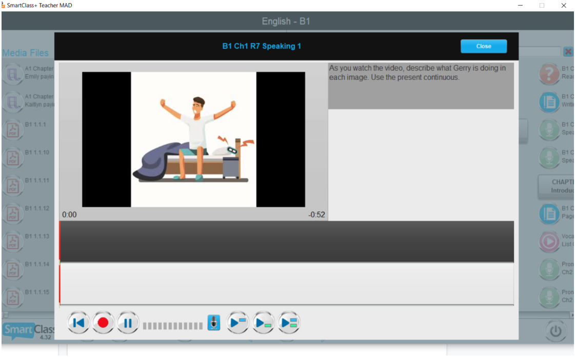 ESL speaking activities watch the video and describe it