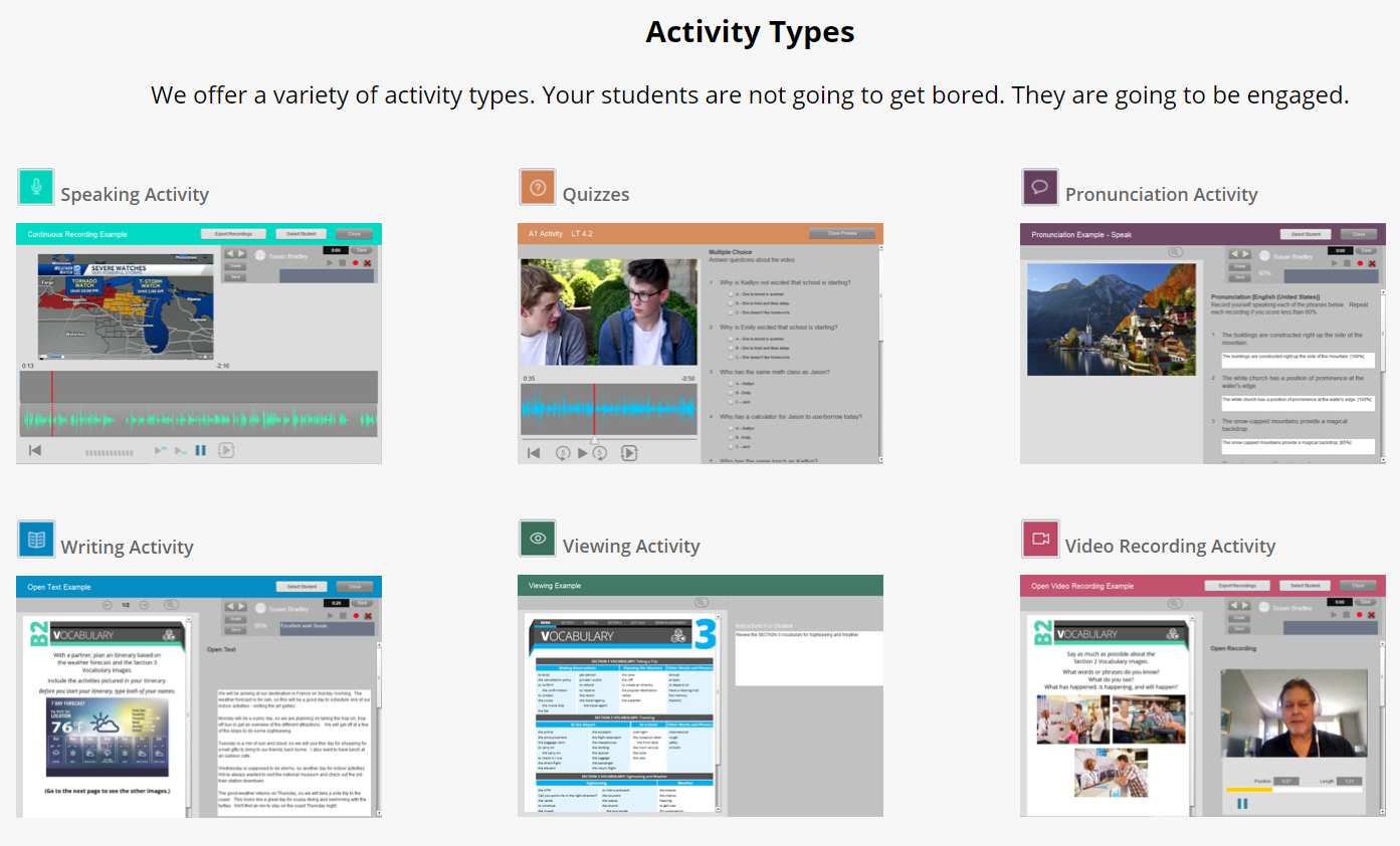 SmartClass Activities Templates